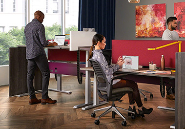 Height adjustable desks: a boost to health, comfort and productivity