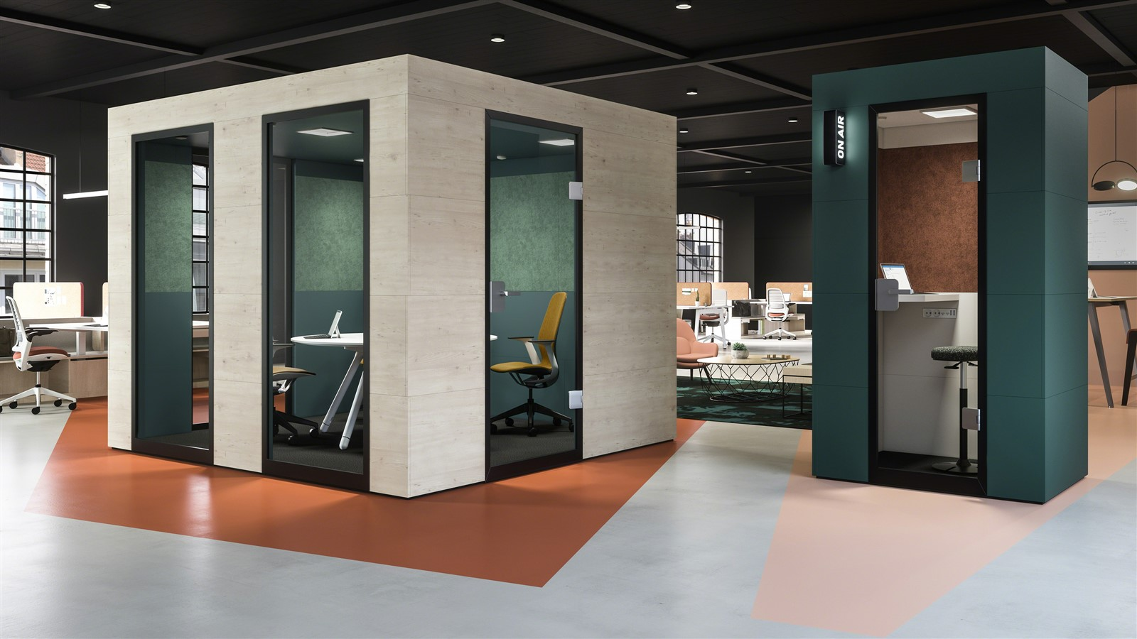 Video collaboration & privacy boosting popularity of booths in SA offices